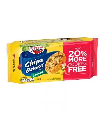 Keebler Chips Deluxe Coconut Cookies - 14.1oz (400G) Food and Groceries Keebler