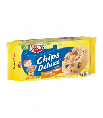 Keebler Chips Deluxe Cookies Peanut Butter Cup - 11.6oz (328g) Cookies and Cakes Keebler