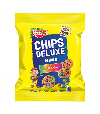 Clearance Special - Keebler Chips Deluxe Rainbow Mini Cookies - 1oz (28g) **Best Before: 19 January 20** Clearance Zone