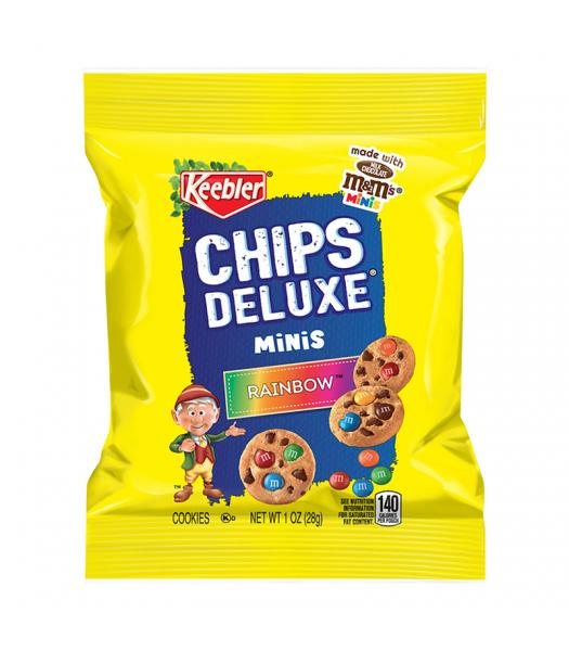 Keebler Chips Deluxe Rainbow Mini Cookies - 1oz (28g) Cookies and Cakes Keebler