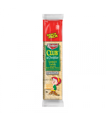 Keebler Club & Cheddar Sandwich Crackers Snack Pack - 1.8oz (51g)