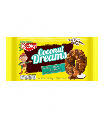 Keebler Coconut Dreams Cookies 8.5oz (240g) Cookies and Cakes Keebler