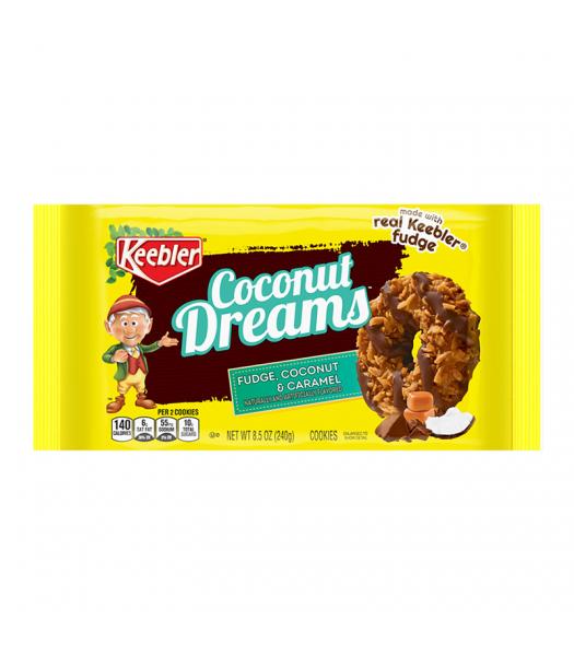 Keebler Coconut Dreams Cookies 8.5oz (240g) Cookies and Cakes Keebler