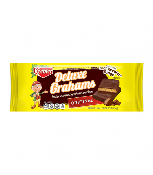Clearance Special - Keebler Deluxe Grahams - 12.5oz (354g) **Best Before: April 21** Clearance Zone