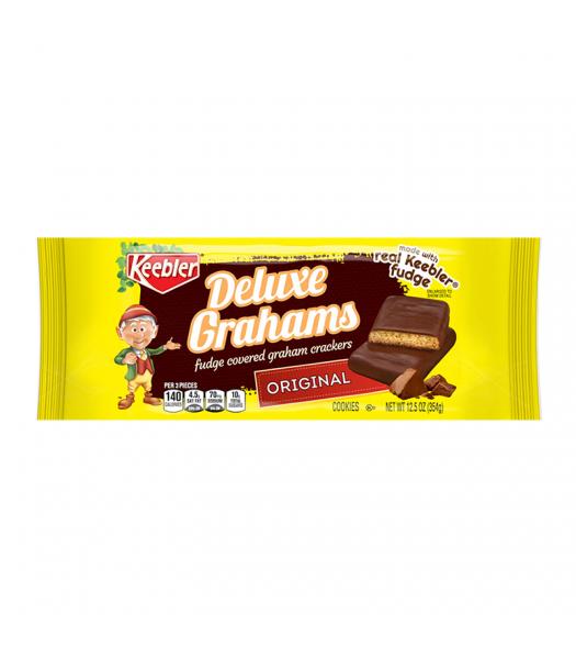 Keebler Deluxe Grahams - 12.5oz (354g) Food and Groceries Keebler