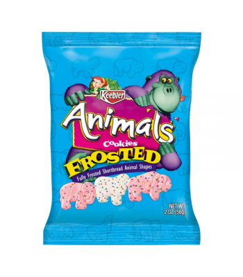 Keebler Frosted Animals - 13oz (368g) Cookies and Cakes Keebler