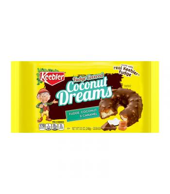 Keebler Fudge Covered Coconut Dreams Cookies - 8.5oz (240g) Cookies and Cakes Keebler
