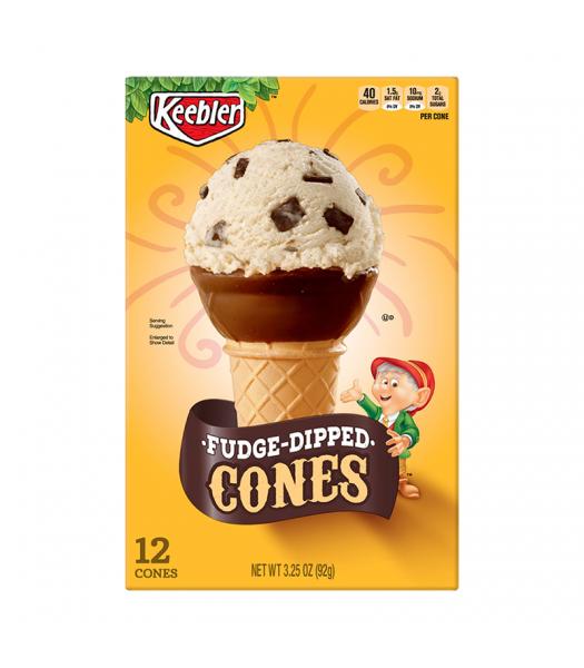 Keebler Fudge Dipped Ice Cream Cups - 3.25oz (92g) Food and Groceries Keebler