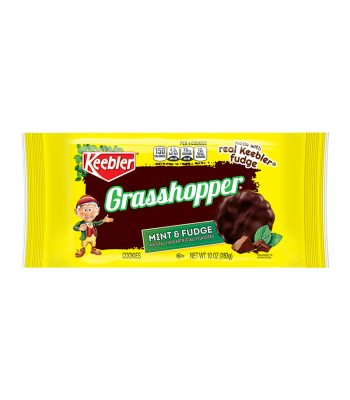 Keebler Grasshopper Mint & Fudge Cookies - 10oz (283g) Food and Groceries Keebler