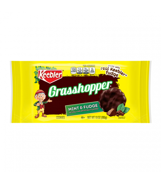 Keebler Grasshopper Mint & Fudge Cookies - 10oz (283g) Food and Groceries Keebler