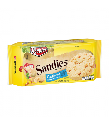 Keebler Sandies Cashew Shortbread Cookies - 11.2oz (317g) Cookies and Cakes Keebler