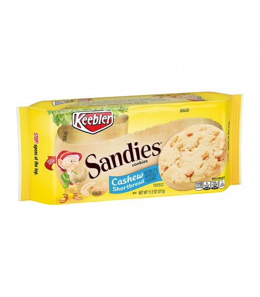 Keebler Sandies Cashew Shortbread Cookies - 11.2oz (317g) Cookies and Cakes Keebler