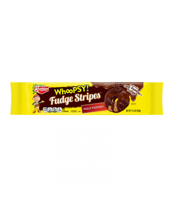 Keebler Whoopsy! Fudge Dipped Fudge Stripes Cookies - 11.5oz (326g) Cookies and Cakes Keebler