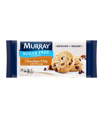 Murray Sugar Free Chocolate Chip Pecan Cookies - 8.8oz (249g) Cookies and Cakes