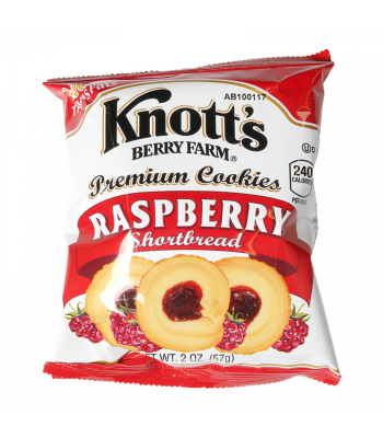 Knott's Berry Farm Raspberry Shortbread Cookies - 2oz (57g) Cookies and Cakes