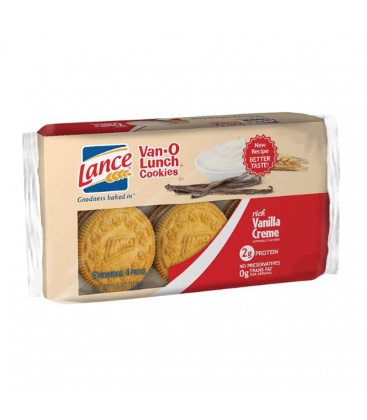 Lance Van-O Lunch Cookies Vanilla - 6.6oz (187g) Cookies and Cakes Keebler