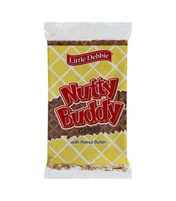 Little Debbie Nutty Buddy Bars 2.1oz (60g) Food and Groceries