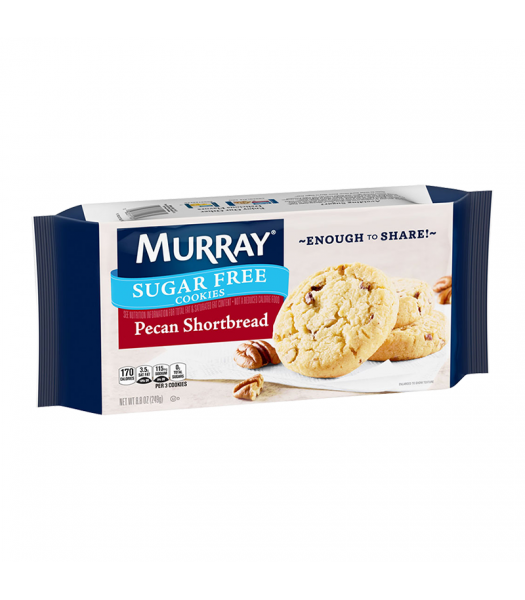 Murray Sugar Free Pecan Shortbread Cookies - 8.8oz (249g) Food and Groceries