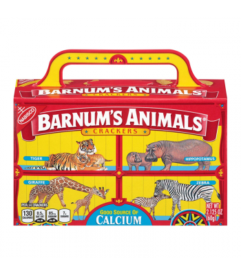 Nabisco Barnum's Animal Crackers 2.125oz (60g) Cookies and Cakes Nabisco