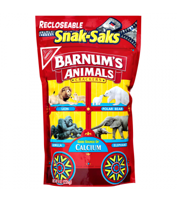 Nabisco Barnum's Animal Crackers 8oz (226g) Cookies and Cakes Nabisco