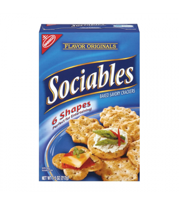 Nabisco Flavor Originals Sociables Crackers - 7.5oz (212g) Food and Groceries Nabisco