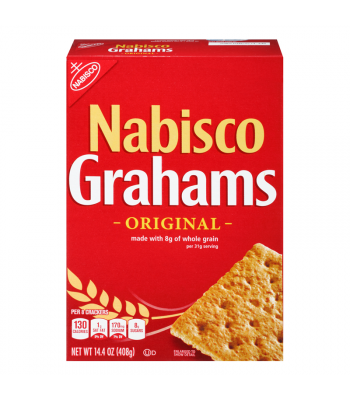 Nabisco Grahams Crackers 14.4oz (408g) Crackers Nabisco