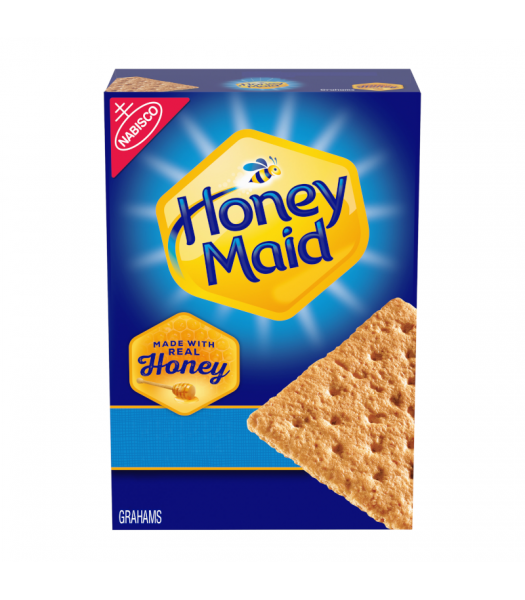 Nabisco Honey Maid Grahams Crackers - 14.4oz (408g) Snacks and Chips Nabisco