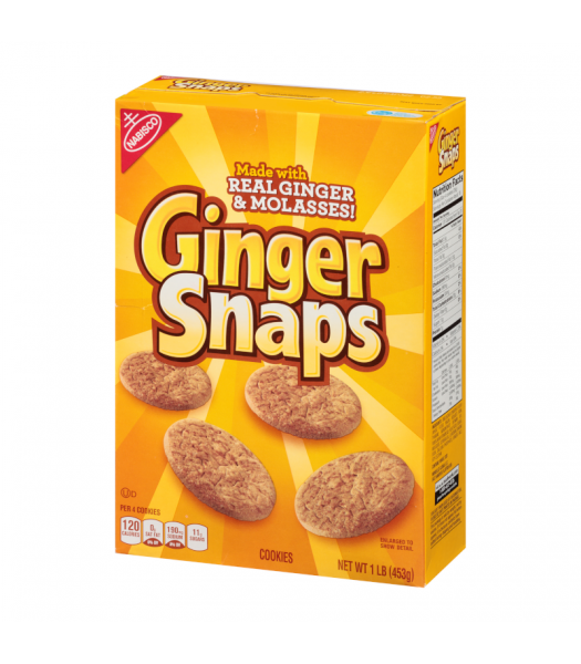 Nabisco Old Fashioned Ginger Snaps - 16oz (453g) Snacks and Chips Nabisco