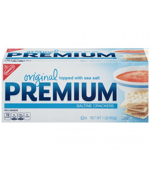 Nabisco Premium Saltine Crackers 1lb (453g) Crackers Nabisco