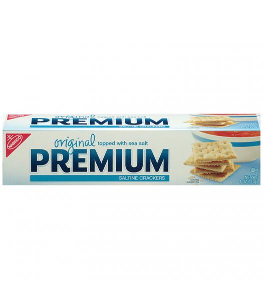 Nabisco Premium Saltine Crackers 4oz (113g)  Crackers Nabisco
