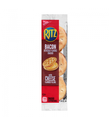 Nabisco Ritz Bacon and Cheese Sandwich Cracker 1.35oz (38g) Food and Groceries Nabisco