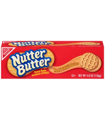 Clearance Special - Nutter Butter Cookies 4.8oz (136g) **Best Before: 06 February 2017**