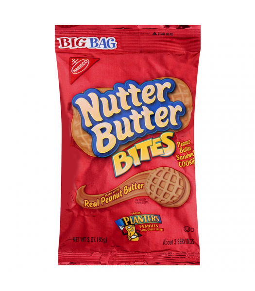 Nutter Butter Bites Big Bag 3oz (85g) Cookies and Cakes Nutter Butter