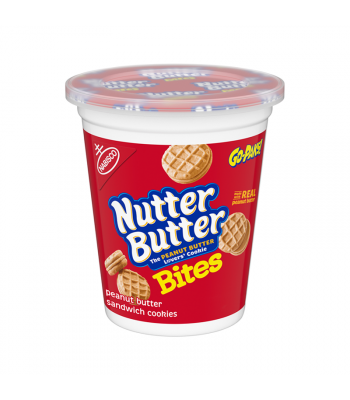 Nutter Butter Bites Go Pak 3.5oz (99g) Cookies and Cakes Nutter Butter
