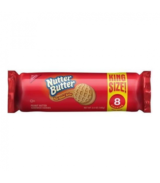 Nutter Butter King Size - 3.5oz (99g) Cookies & Biscuits Nutter Butter