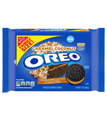 OREO Caramel Coconut Family Size - 17oz (482g) Cookies and Cakes Oreo