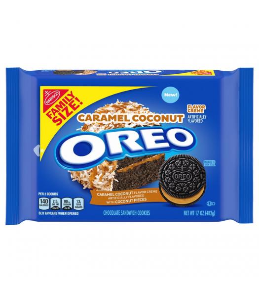 OREO Caramel Coconut Family Size - 17oz (482g) Cookies and Cakes Oreo