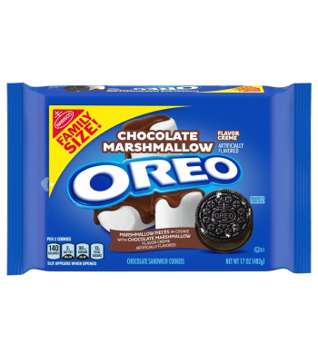 OREO Chocolate Marshmallow Family Size - 17oz (482g) Cookies and Cakes Oreo