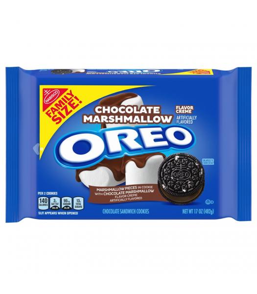 OREO Chocolate Marshmallow Family Size - 17oz (482g) Cookies and Cakes Oreo