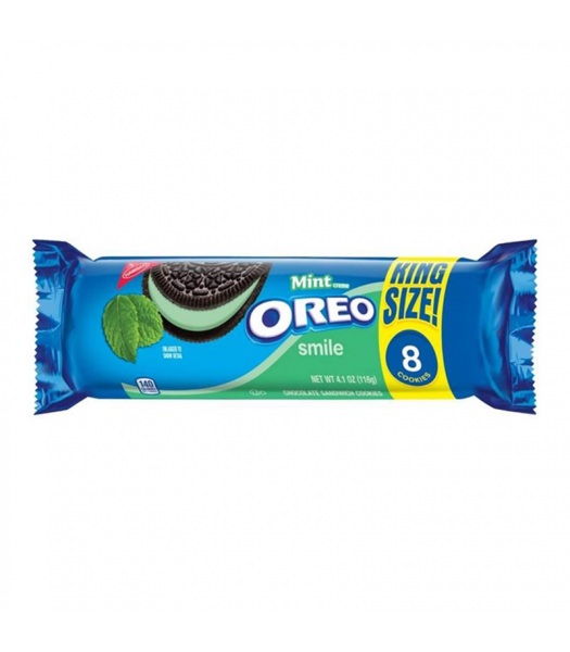 Oreo Mint Creme King Size 4.1oz (116g) Cookies and Cakes Oreo