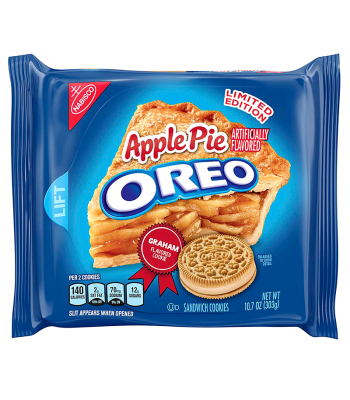 Oreo - Limited Edition Apple Pie Cookies - 10.7oz (303g) Cookies & Biscuits Oreo