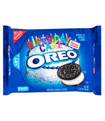 Oreo Birthday Cake Cookies 15.25oz (432g) Cookies & Biscuits Oreo