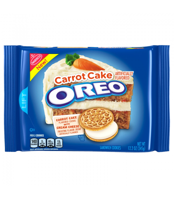 Oreo Carrot Cake Cookies - 12.2oz (345g) Cookies and Cakes Oreo