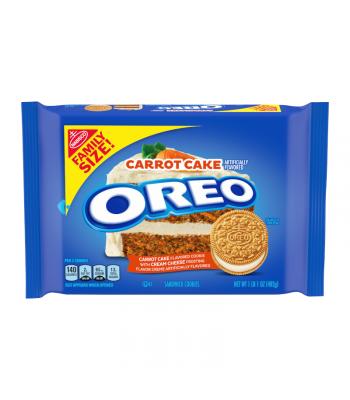 Oreo Carrot Cake Family Size - 17oz (482g) Cookies and Cakes Oreo