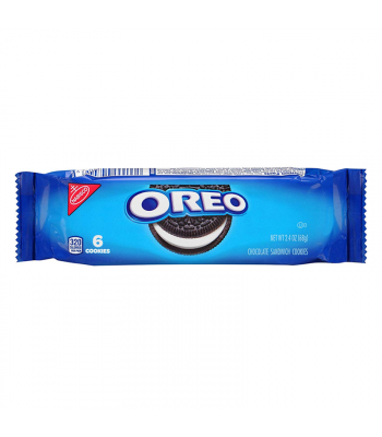 Oreo Chocolate Sandwich Cookies 6-Pack - 2.4oz (68g) Cookies and Cakes Oreo