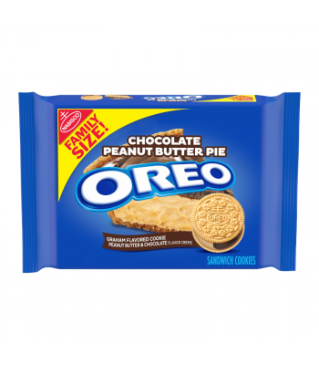 Oreo Chocolate Peanut Butter Pie Family Size - 17oz (482g) Cookies and Cakes Oreo