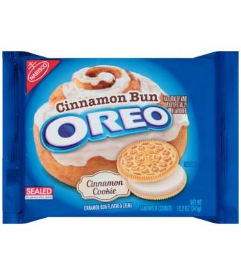 Oreo Cinnamon Bun Flavoured Sandwich Cookies 12.2oz (346g)