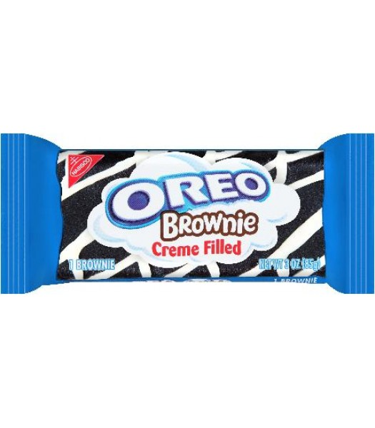 Oreo Creme Filled Brownie 3oz (85g) Brownies & Bars Oreo
