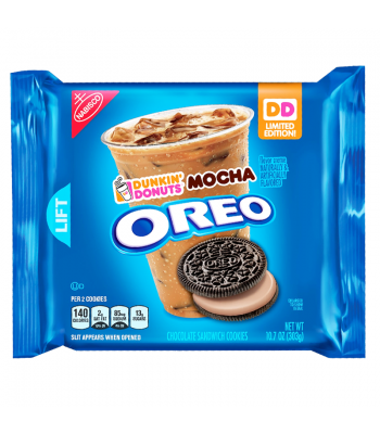Oreo Dunkin' Donuts Mocha Cookies 10.7oz (303g) Cookies & Biscuits Oreo