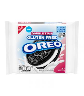Oreo Gluten Free Double Stuf Cookies - 14.03oz (397g) Cookies and Cakes Oreo